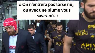 VIDEO. Top 14 : le Stade Rochelais entre sur la pelouse sans blazer, Patrice Collazo se justifie