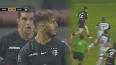 VIDÉO. Stade Toulousain : titulaire face à Sale, Sofiane Guitoune reste sur une entrée en jeu fracassante en Top 14