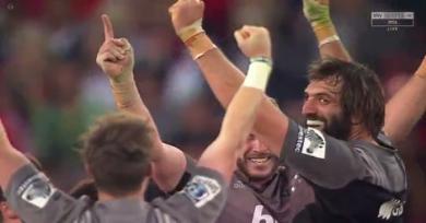 RESUME VIDEO. Super Rugby - 8e titre pour les Crusaders face à des Lions réduits à 14 pendant une mi-temps