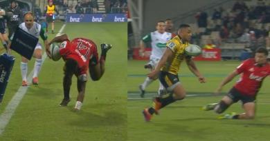 Super Rugby - La dextérité de Reece, le contrôle orienté de Laumape, Crusaders et Hurricanes ont régalé