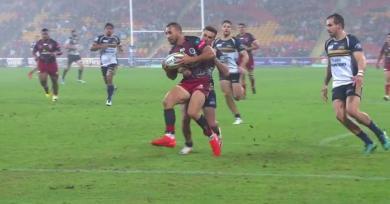 VIDEO. Super Rugby : l'énorme raté de Quade Cooper dans l'en-but face aux Brumbies