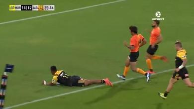 VIDEO. Super Rugby - Hurricanes : le hat-trick de Julian Savea face aux Jaguares