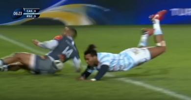 Champions Cup - Teddy Thomas sanctionné après son énorme raté face à Castres