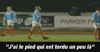 VIDEO. FLASHBACK. Thierry Lacroix embarque un micro pour la première fois dans un match
