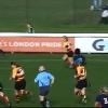 VIDEO. Rugby f�minin - Alice Richardson traverse le terrain en enrhumant quatre d�fenseurs