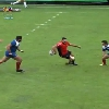 VIDEO. Le 2e ligne de Bagn�res Anibal Bonan se prend pour Sonny Bill Williams face au Chili