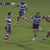 VIDEO. Premiership - Billy Vunipola se prend un gros raffut de Gavin Henson