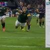 RESUME VIDEO. Coupe du monde. Bryan Habana �gale Jonah Lomu lors de l'�crasante victoire de l'Afrique du Sud sur les USA
