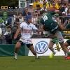 VIDEO. Top 14. Camille Lopez renvoie Colin Slade en Nouvelle-Z�lande avec un gros plaquage offensif