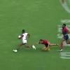 VIDEO. Wellington 7s. Ben Lam marche sur les Anglais pour un essai de 80 mètres