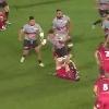 VIDEO. Champions Cup - RCT. Juan Smith raffute et marche sur le visage de Rob Evans