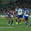 VIDEO. Rugby � XIII. Choc des titans entre Kane Evans et Sam Kasiano en NRL