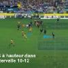 VIDEO. Le rugby pour les nuls - Leçon 11 : Comment franchir et marquer grâce à une passe sautée