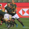 VIDEO. Rugby Championship - Duane Vermeulen aplatit James Slipper comme une cr�pe avec un �norme caramel