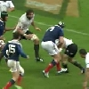 VIDEO. France - All Blacks : Vincent Debaty pose Ryan Crotty sur le cul