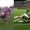 VIDEO. Le rugby � XIII nous offre deux passes venues d'un autre monde