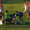 Le tr�s bel essai de Lacroix pour la victoire de Bayonne dans le derby