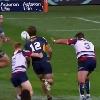 VIDEO. Super Rugby. Christian Lealiifano joue avec la r�gle pour valider un essai des Brumbies