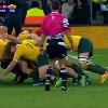 VIDEO. Coupe du monde. L'Australie fait r�gner sa loi en m�l�e face � l'Angleterre et au Pays de Galles