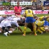 VIDEO. Top 14 - CAB - ASM. La m�l�e de Clermont emporte celle de Brive sur une vingtaine de m�tres