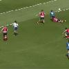 VIDEO. Atlanta 7s. France 7 féminines. Chloé Pelle colle un énorme raffut à une Néo-Zélandaise mais ça ne suffit pas