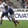 VIDEO. Le plaquage appuy� de Florian Fritz sur le All Black Israel Dagg