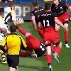 VIDEO. Champions Cup - L'ouvreur des Wasps Jimmy Gopperth fait valdinguer Brad Barritt avec un gros raffut