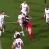 VIDEO. Champions Cup : le plaquage dangereux de Michael Rhodes sur Andrew Trimble