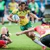 Le rugby grandit au pays du football avec l'aide d'un Fran�ais, K�vin Chevalier