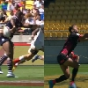VIDEO. Wellington 7s. Les superbes passes apr�s contact de Joe Nayacavou et Dan Bibby