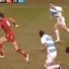 VIDEO. L'�norme plaquage pour l'essai de Mike Phillips face � l'Argentine