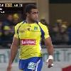 ASM : Jean-Marc Lhermet r�agit apr�s les sifflets contre Napolioni Nalaga lors du match ASM - Castres