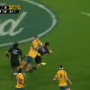 VIDEO. Le All Black Nehe Milner-Skudder brille avec un nouveau tour de magie face aux Wallabies