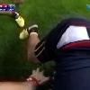 VIDEO. INSOLITE. Coupe du monde. Pi�g� dans un ruck Pascal Gauzere se fait d�blayer par Bismark Du Plessis