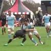 VIDEO. Premiership. Alex Tuilagi plie son courageux adversaire en deux avec une �norme charge
