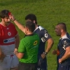 VIDEO. Pro D2. Distribution de marrons chauds et de cartons rouges entre Biarritz et Agen