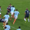 VIDEO. Pro D2 - USAP. Henri Tuilagi charge pour l'essai de David Marty face � Agen