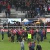 VIDEO. Pro D2. La joie des Aurillacois et des Bayonnais apr�s leur qualification en demi-finales