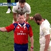 VIDEO. 6 Nations : quand Nigel Owens remet Chris Robshaw � sa place en direct