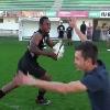 VIDEO. INSOLITE. Un globe-trotter tente de plaquer des joueurs du CA Brive...� ses risques et p�rils