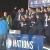 VID�O. VI Nations. Vivez le titre irlandais au c�ur du groupe apr�s le match Angleterre - France