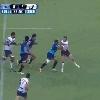 VIDEO. Super Rugby. Le demi de m�l�e Rudy Paige ridiculise son vis-�-vis en le faisant reculer sur 40m