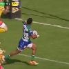 VIDEO. Pro 12. Henry Seniloli se prend pour un autre et d�gueule la balle � 0,1m de la ligne