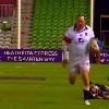 VIDEO. FLASHBACK. 2013. Le talonneur Steve Thompson s'offre un essai de 80 m�tres face � l'Australie