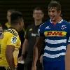 VIDEO. Super Rugby. Eben Etzebeth et Julian Savea se chauffent et s'envoient des baffes