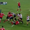 VIDEO. Super Rugby. Encore et toujours du mauvais c�t�, Richie McCaw se fait ch�tier par les Rebels