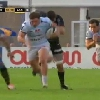 VIDEO. Top 14 - La course explosive du talonneur du Racing Camille Chat face � La Rochelle