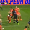 VIDEO. Top 14 - Stade Toulousain. Vincent Clerc port� en triomphe par les joueurs de Brive