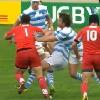 VIDEO � FLASHBACK. Vasil Kakovin fait exploser Felipe Contepomi avec une grosse charge � la Coupe du monde 2011
