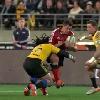 VIDEO. Super Rugby. RCT vs Racing-M�tro ou quand Ma'a Nonu d�coupe Dan Carter